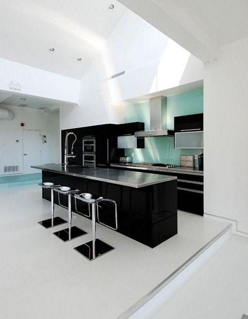 Diseños Contemporáneos en Blanco y Negro | Studio life | Pinterest ...