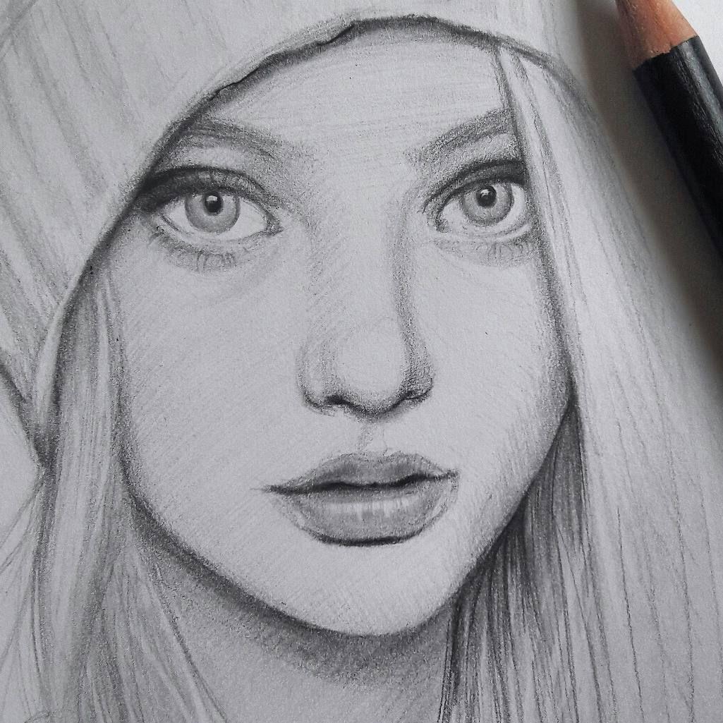 #sketch #sketchbook #pencil #portrait #blackandwhite #face #arts_gallery #arts_help #fashion #charcoal #karakalem ##drawing #illustration… #realisticeye