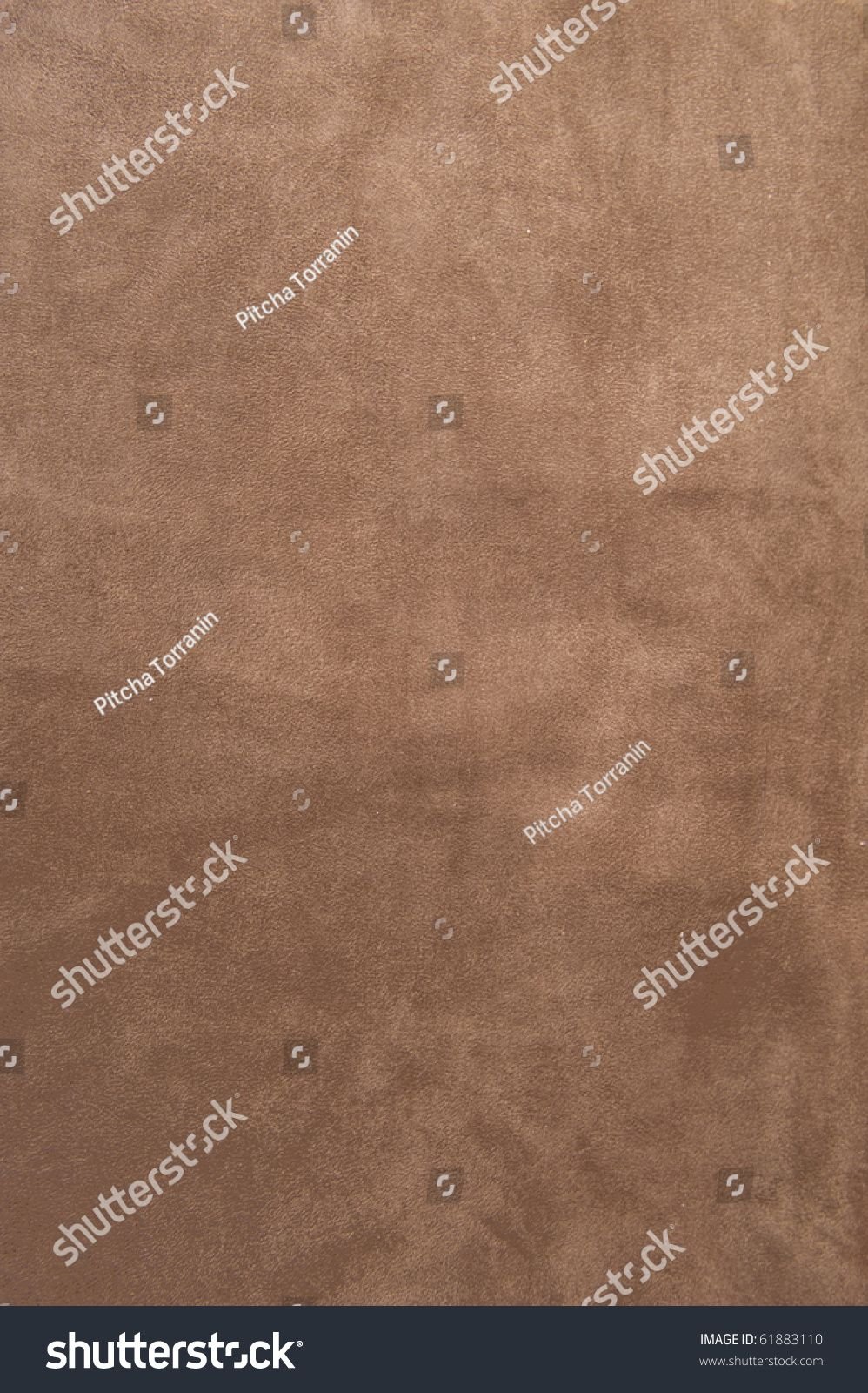 Brown Velvet Texture Closeup Useful As Background For Design