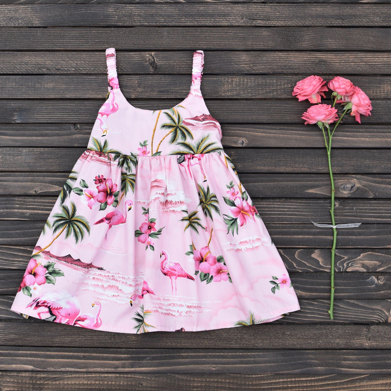 Pink Flamingo Dress Perfect For Summer Kaigirls