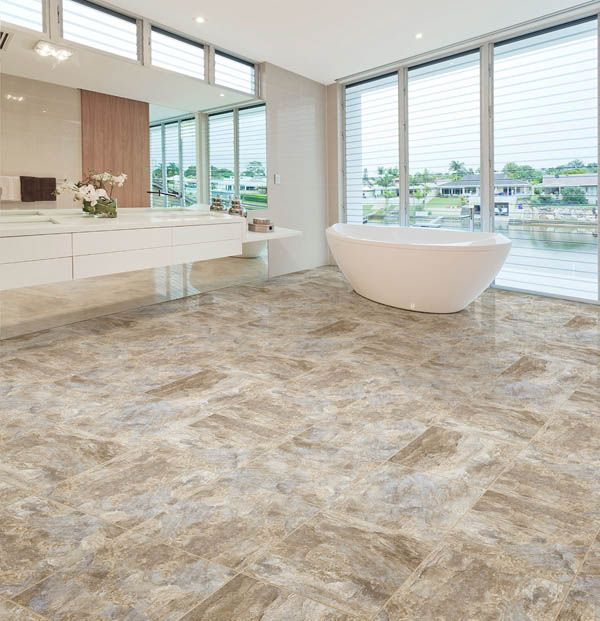 With The Look Of Real Ceramic Luxury Vinyl Tile Has Become Extremely Por