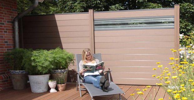 Easy Install Garden Composite Fence Supplier Eight Advantages Of Easy Install Garden Composite Fence Fence Design Outdoor Decor Fence