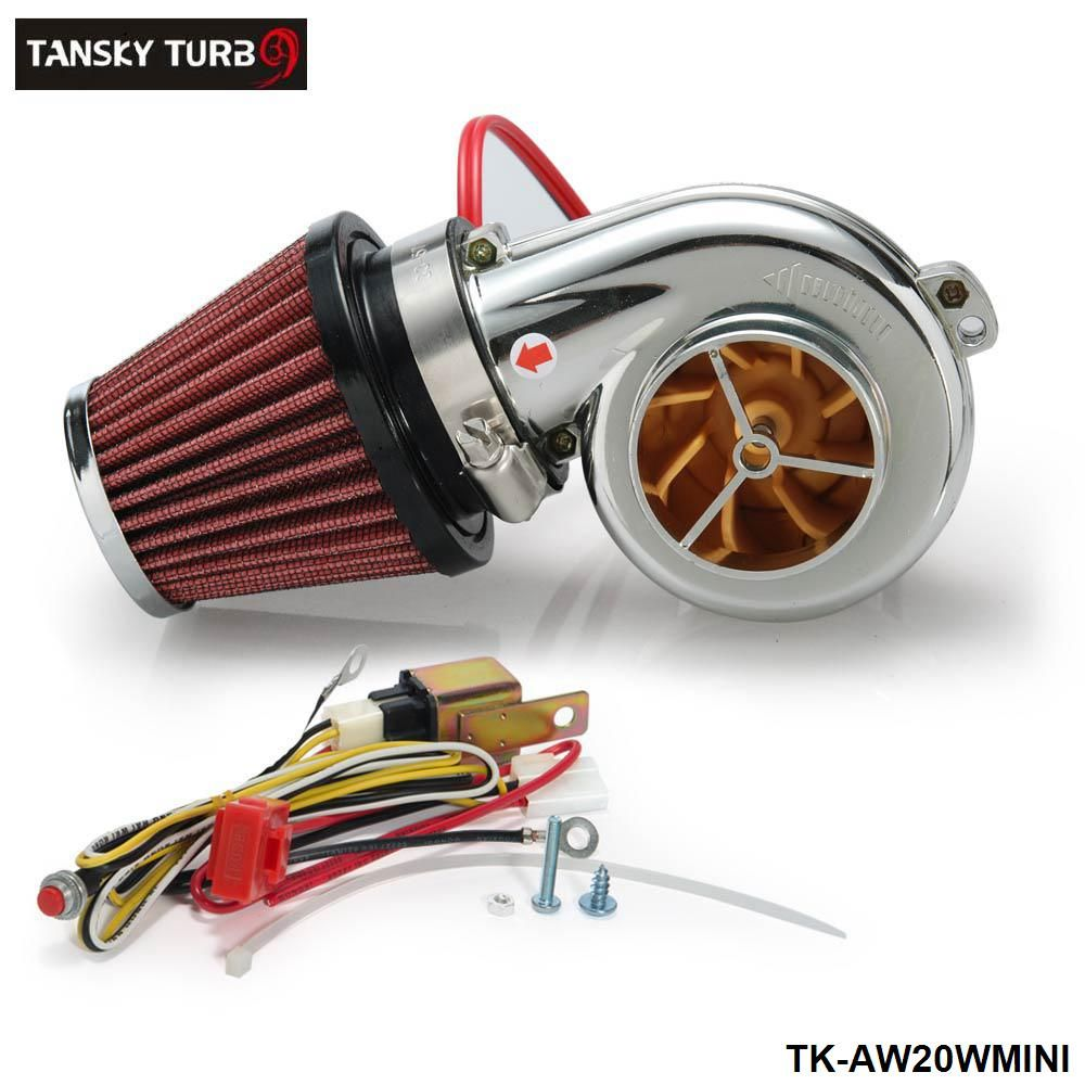 Tansky - Turbo Kits Mini Electric Turbo Supercharger Kit Air Filter ...