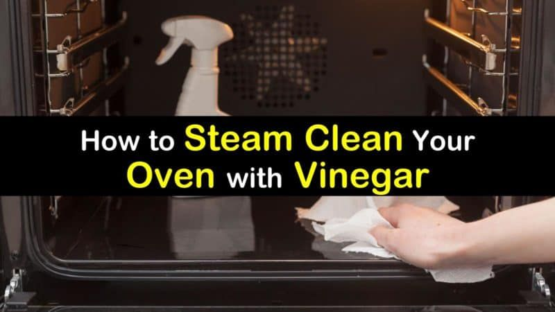 how to steam clean oven with vinegar