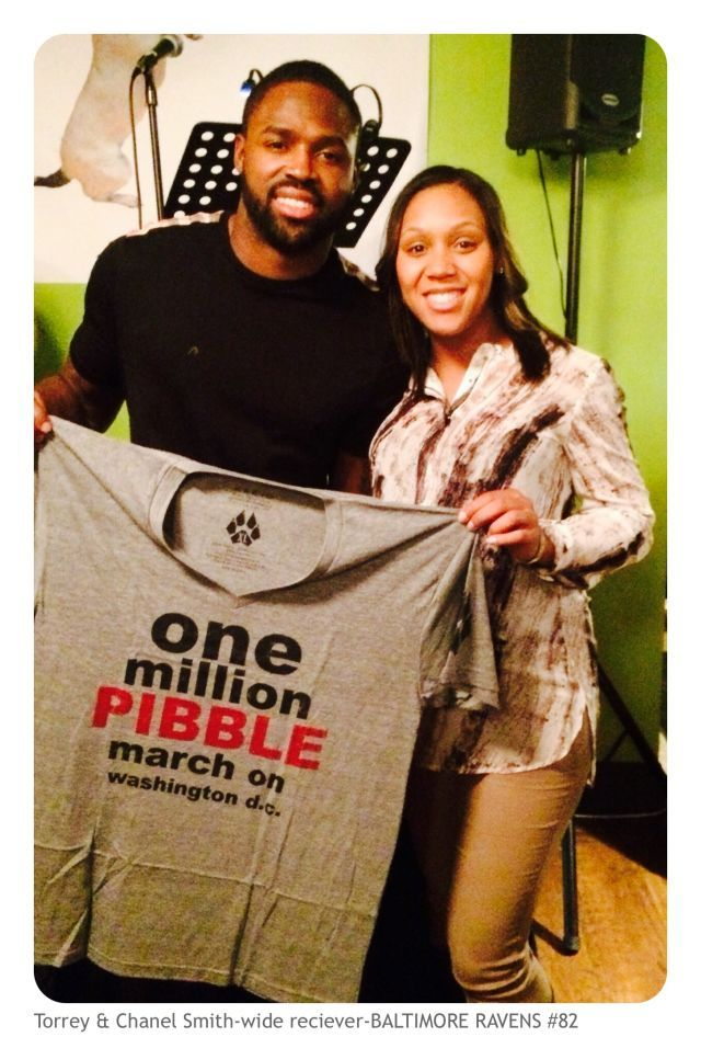TORREY SMITH stands up for Pits and you can too!!!. Jan 31