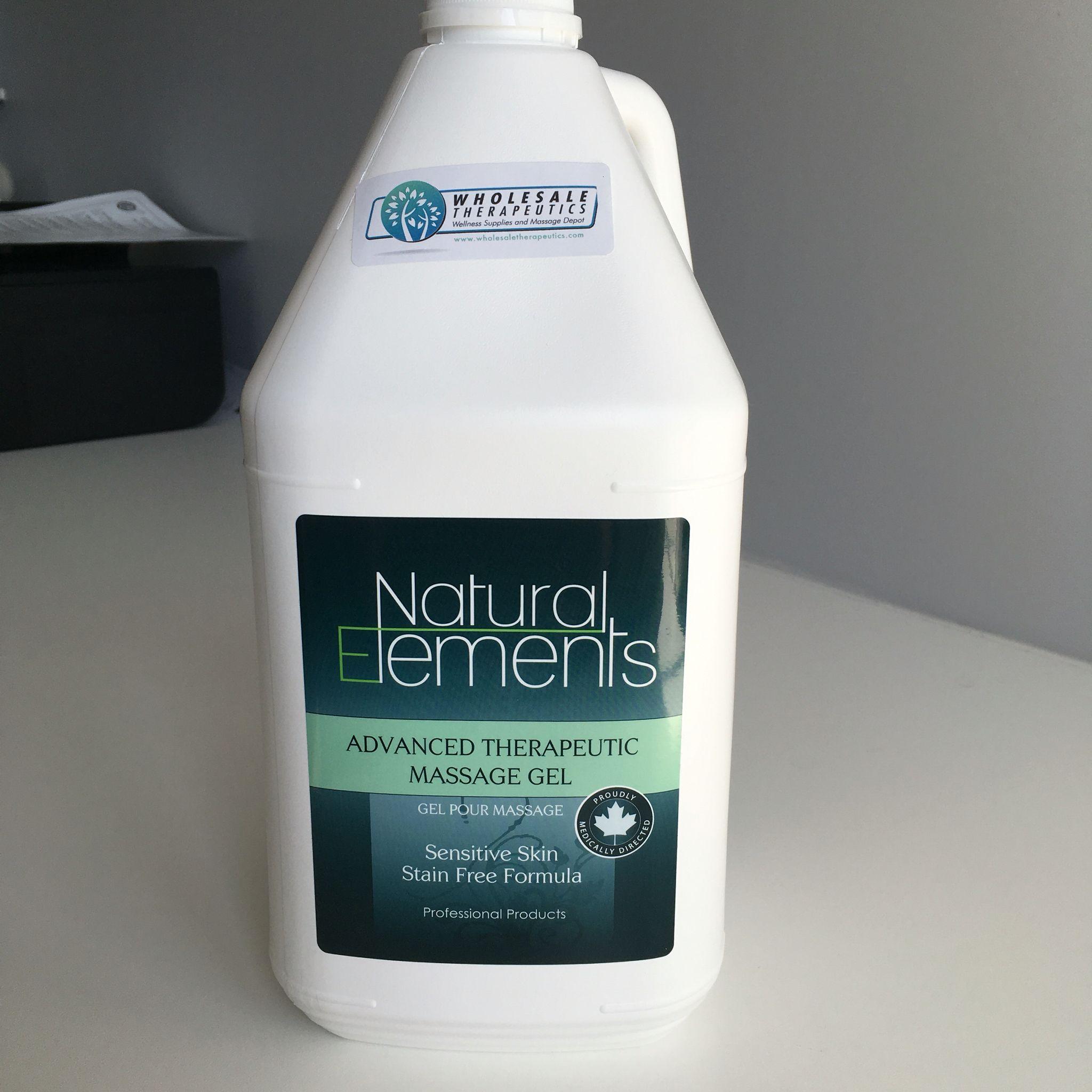 Natural elements advanced therapeutic massage gel natural elements