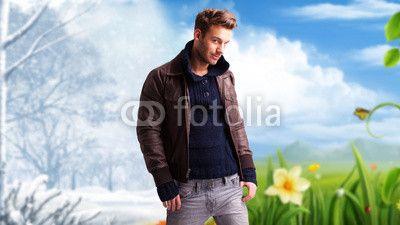 Wechsel zwischen Winter und Frühling