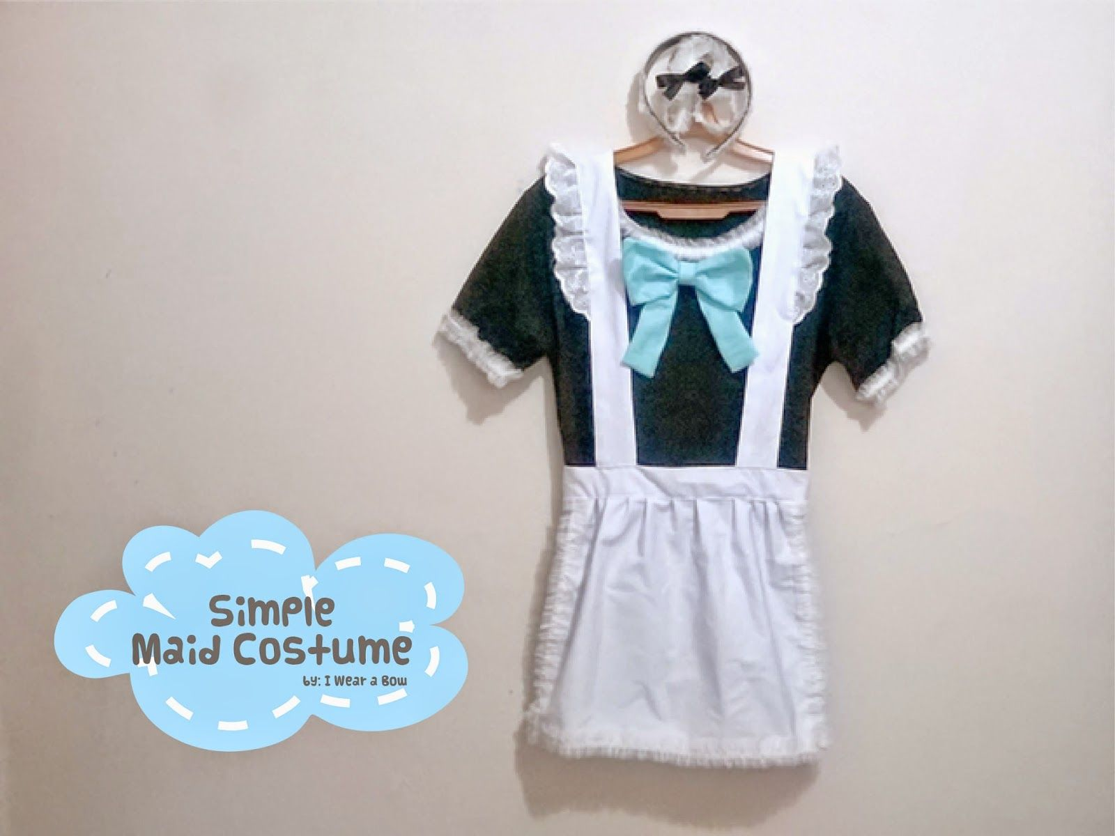 Halloween Diy Maid Costume Simple Tutorial Costumes
