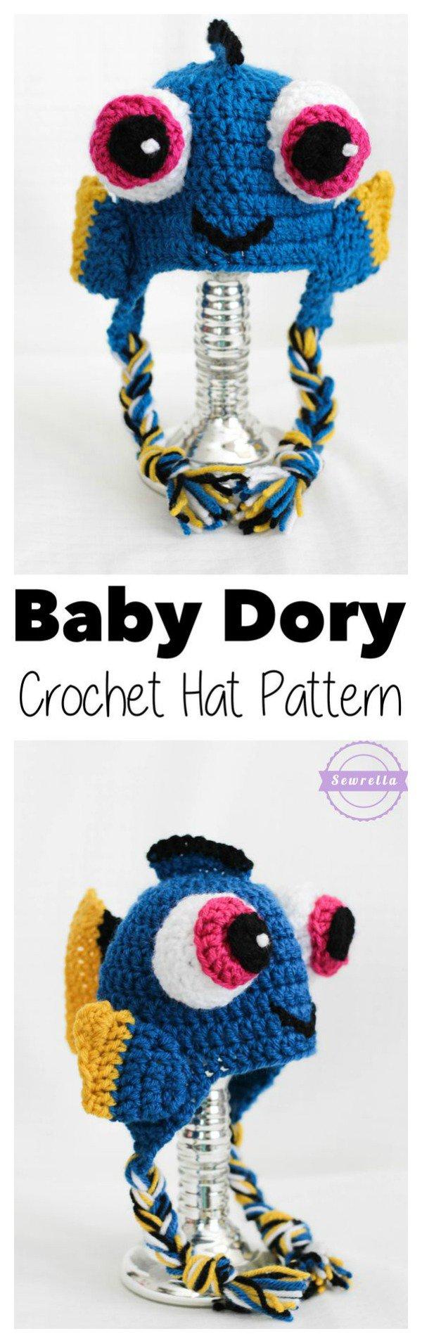 Finding Dory Crochet / Knitting Patterns | Gorros | Pinterest ...