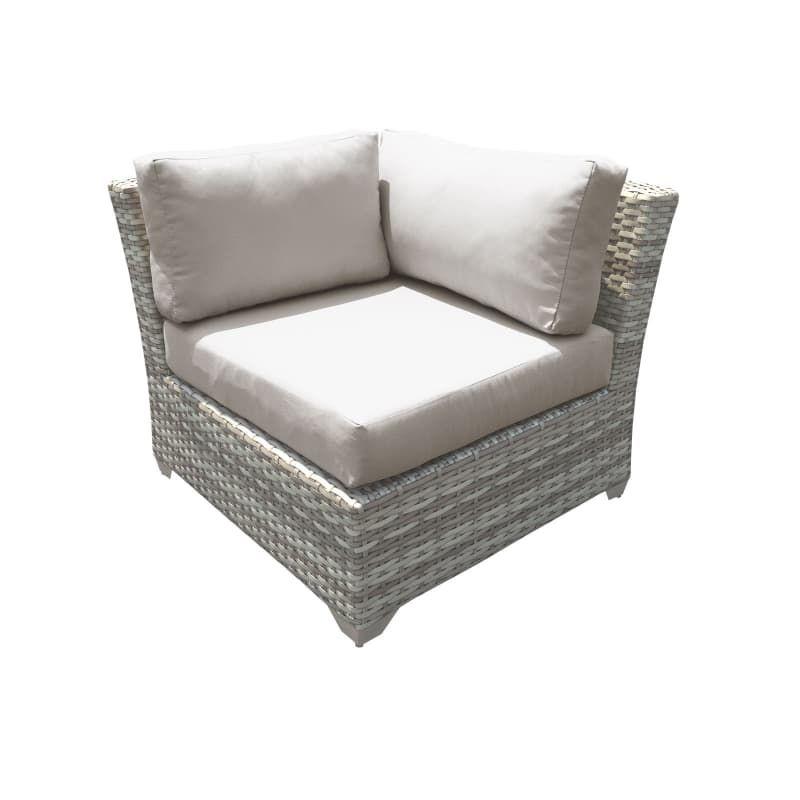 Delacora Tkc Dpf Cha45bcs Outdoor Sofa Patio Furniture Sets Sofa