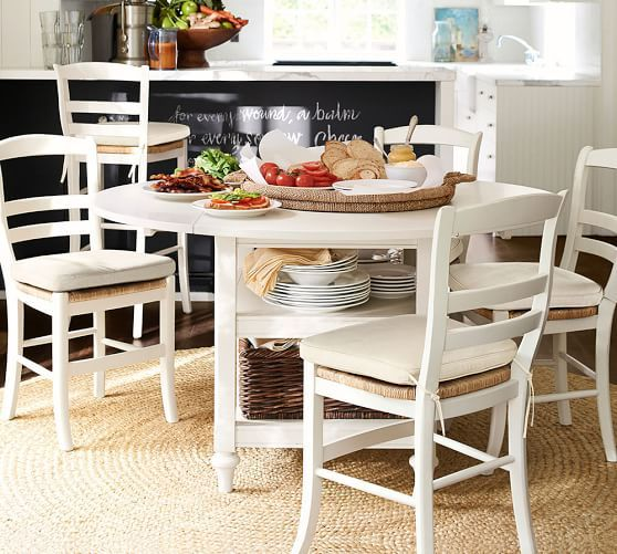 Dining Room Table With Drop Down Sides Awesome Shayne Dropleaf Kitchen Table White  Home Apartment Now Review
