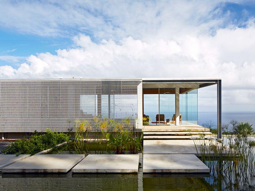 haus in hawaii mit feuerverzinktem stahlskelett haus feuerverzinken stahl haus und garten. Black Bedroom Furniture Sets. Home Design Ideas