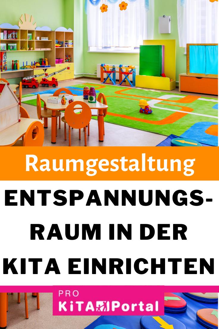 Entspannungsraum in der Kita einrichten | Raumgestaltung für Erzieher*innen und Kinder  #kitaräume