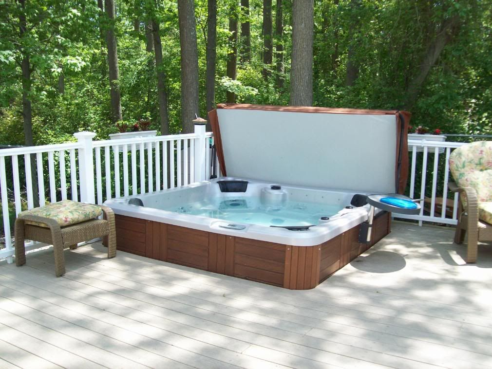 The Hot Tub In The Deck Photo: This Photo was uploaded by Cheryl325 ...