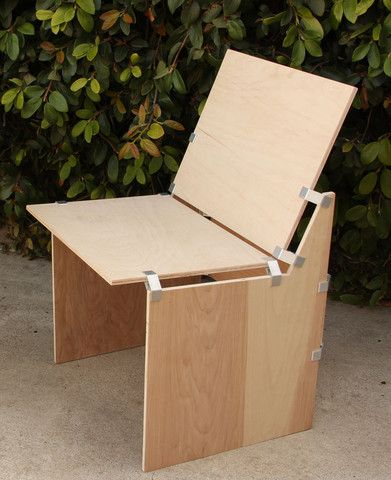 How To Make A Plywood Chair Best Posture Uk Diy With Ply90 Clip Bracket Ply