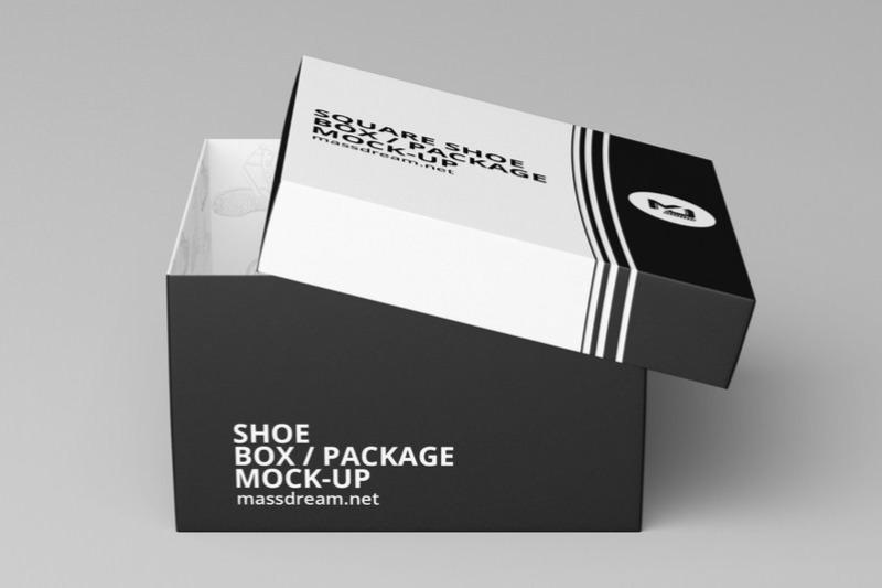 Download 23 Shoe Box Mockup Design Templates Square More Texty Cafe Shoe Box Design Box Mockup Shoe Box