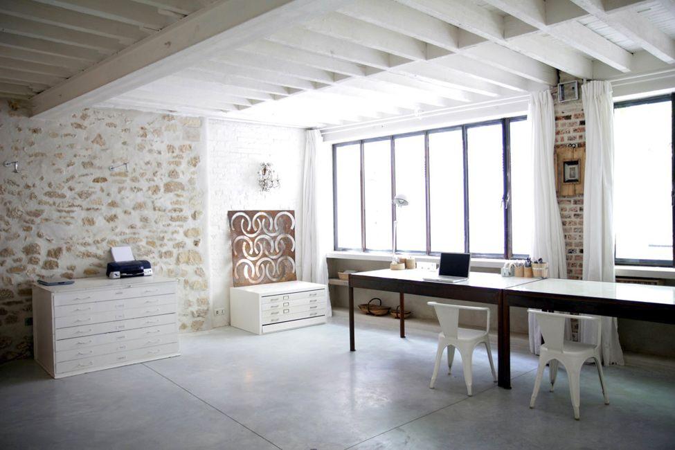 Loft luxueux à la place d\u0027une ancienne imprimerie Décoration