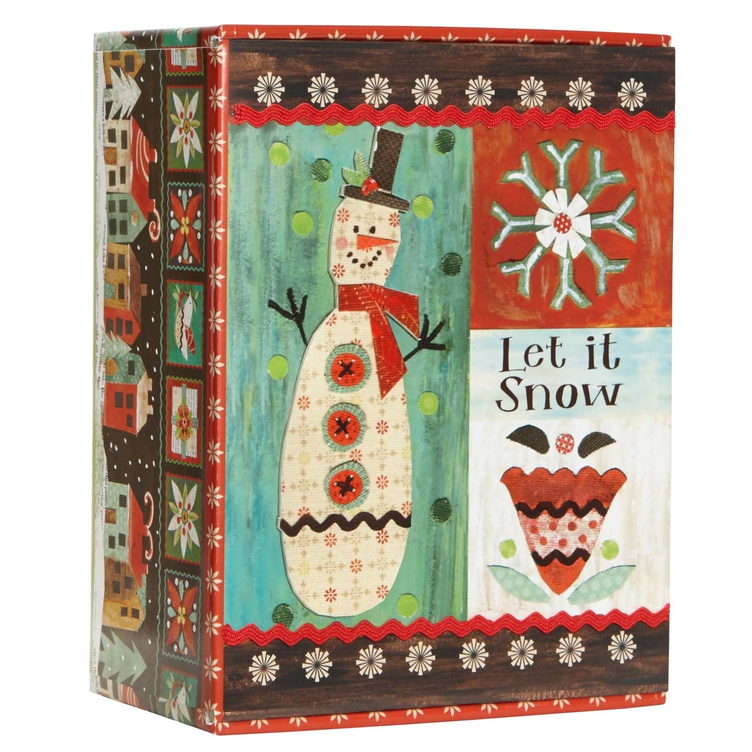 representation of lets express your feeling and share the christmas happiness by sending unique boxed christmas
