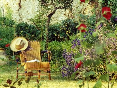 Country Flower Gardens | French Gardens, Beautiful French Garden