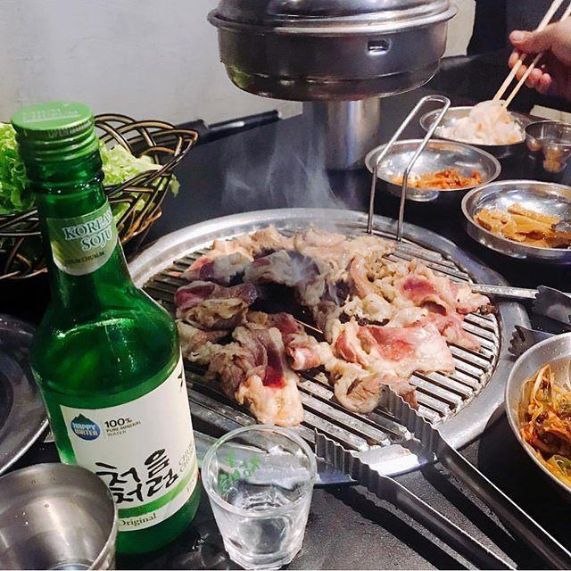 Now Open Samgyupsalamat Timog Offering Unlimited Korean Bbq Meats As Well As Noodles And Bibimbap Masingklarence Bookyapp Vie Bbq Meat Korean Bbq Kbbq
