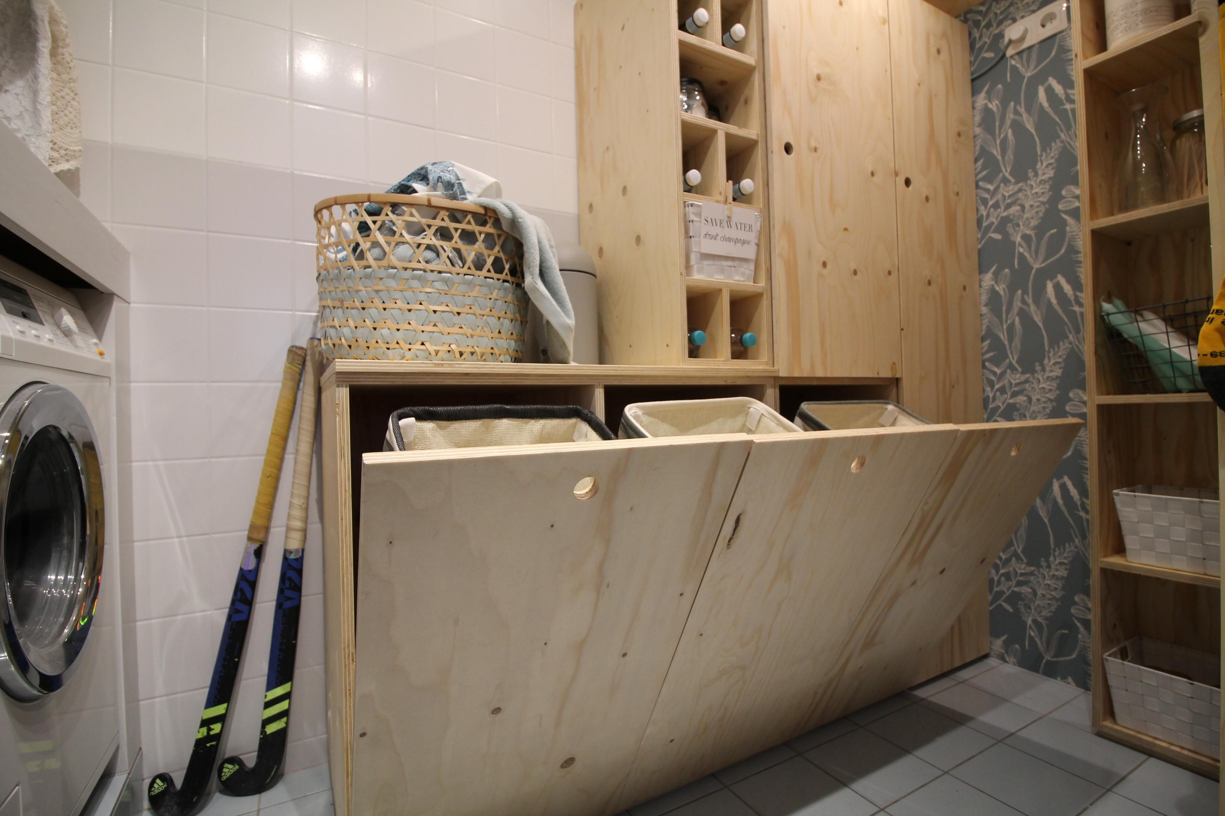 10x Diy Leer : Je gooit er stapels was in de hoek bewaart er je schoonmaakspullen