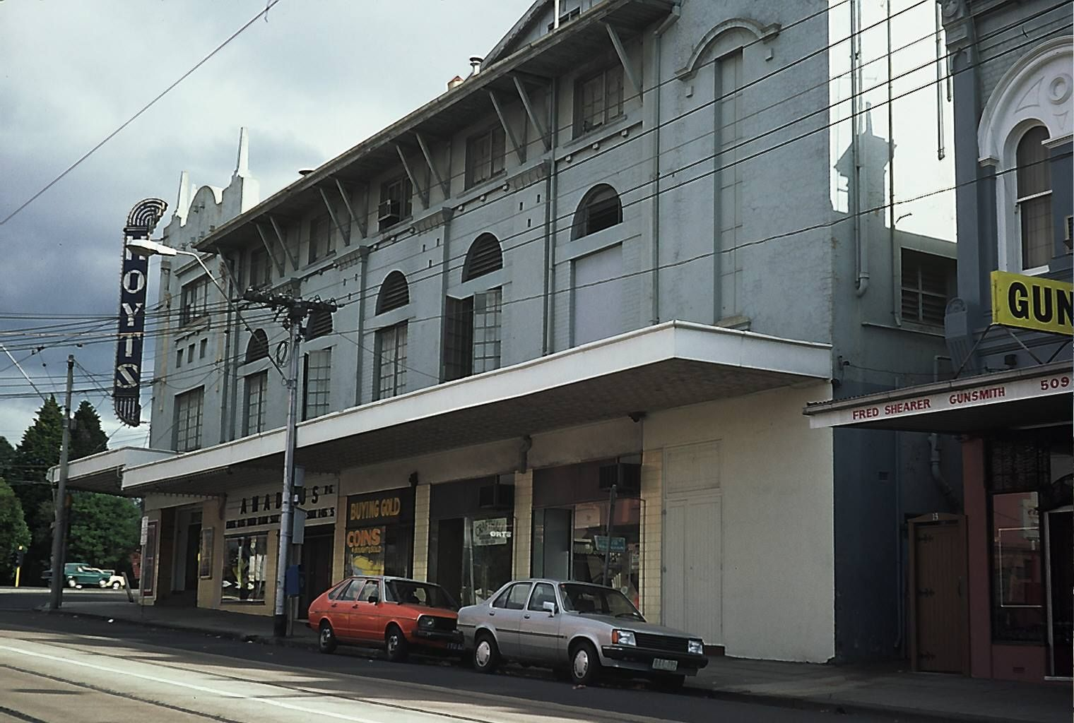 Glenferrie Road View Of Hoyts Malvern In 1984 Amadeus Was Showing At The Time Of The Photo History Theatre In Australia Pinterest
