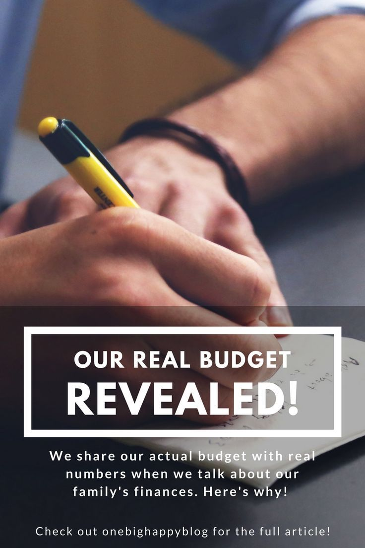we share our real budget and income numbers in this post check out