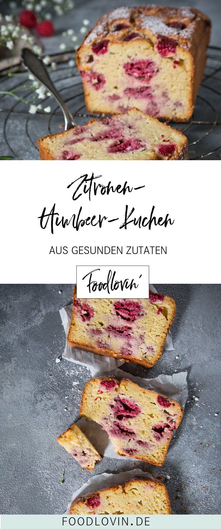 Der beste Himbeer-Zitronenkuchen – saftig, fruchtig und leicht.