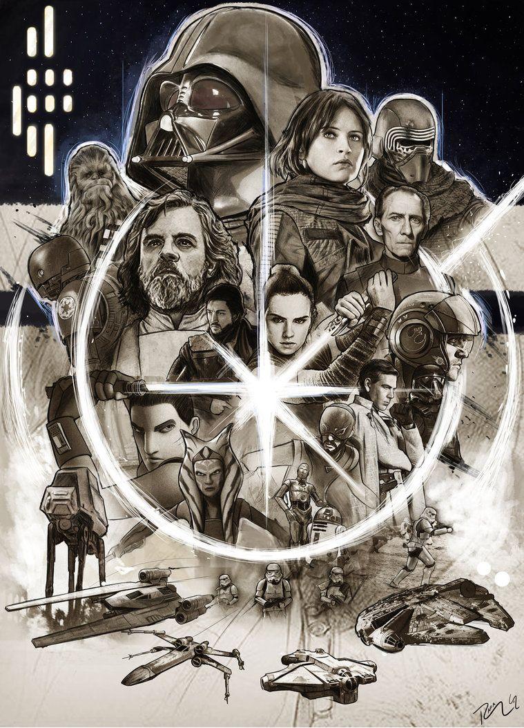 Star Wars Boba Fett Vintage Movie Large Poster Art Print 91x61 cm