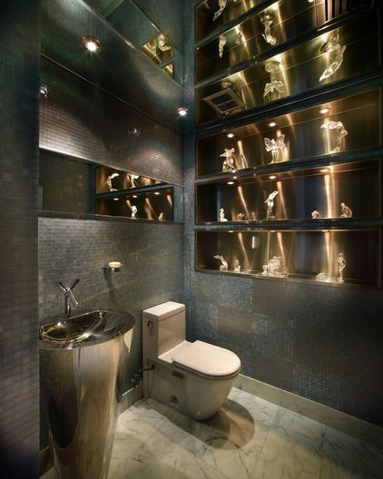 modern bathroom by Pepe Calderin Design