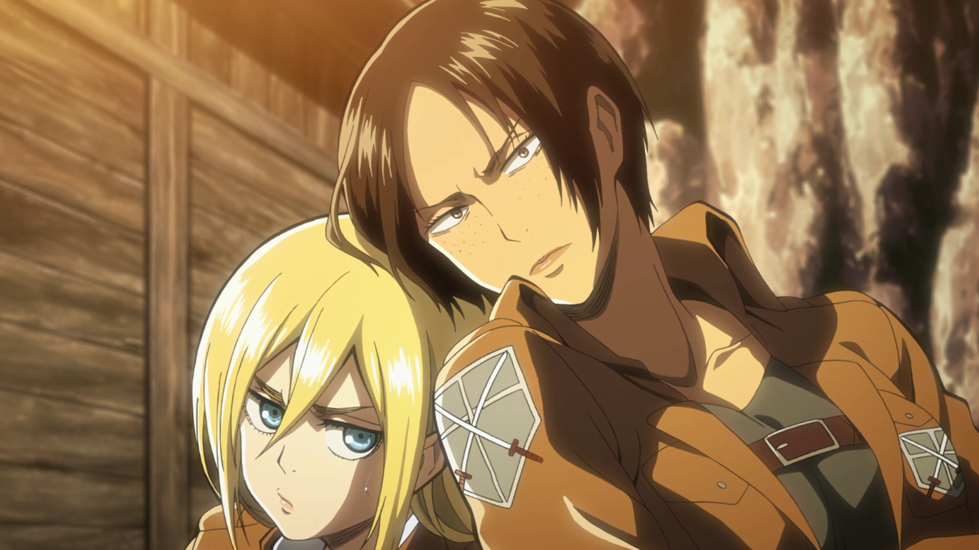 Ataque dos Titãs 2 – ep 2 e 3 – As muralhas são construídas com segredos – Anime21