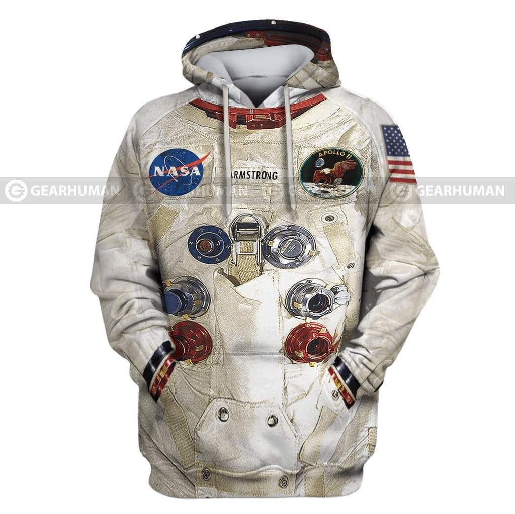50th Anniversary] 3D Armstrong Spacesuit Apparel Mens