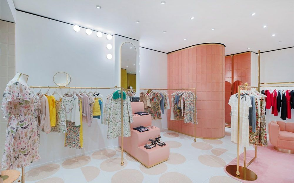 Retail Popular Women S Clothing Stores Interior Design Boutique Store Design Retail Shop Interi Store Design Interior Clothing Store Interior Store Interior