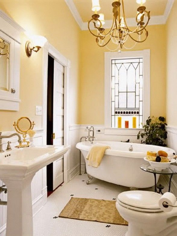 Hang vintage window frame inside bathroom window to give privacy ...