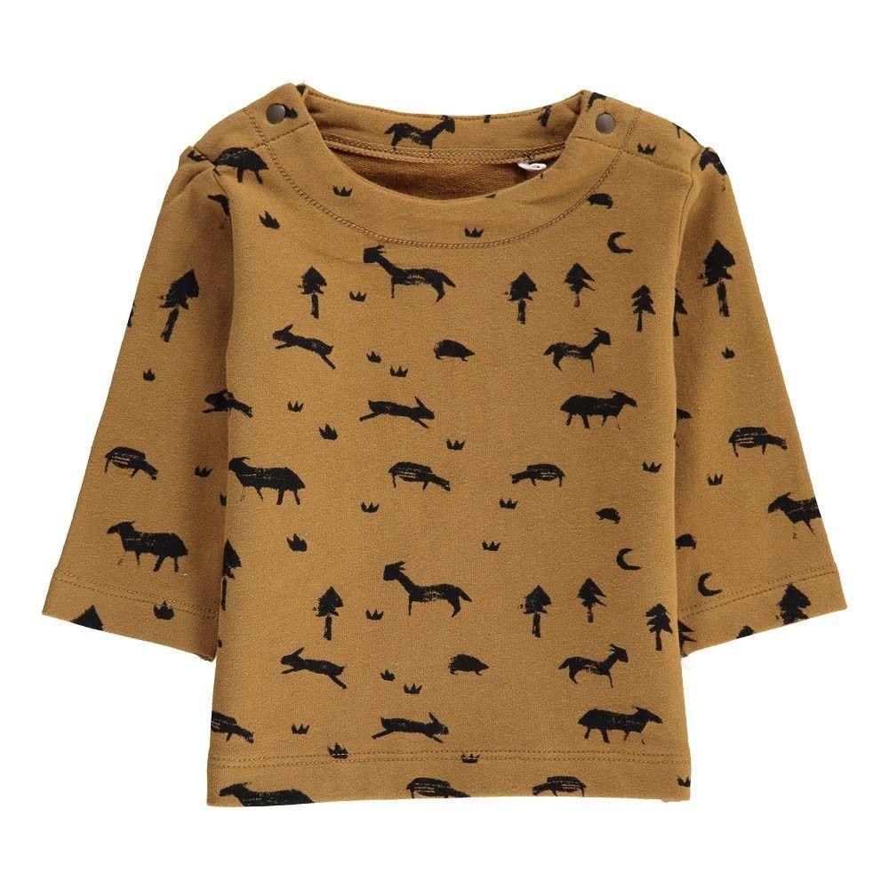 Imps & Elfs Organic Cotton Animals Allover Sweatshirt-product