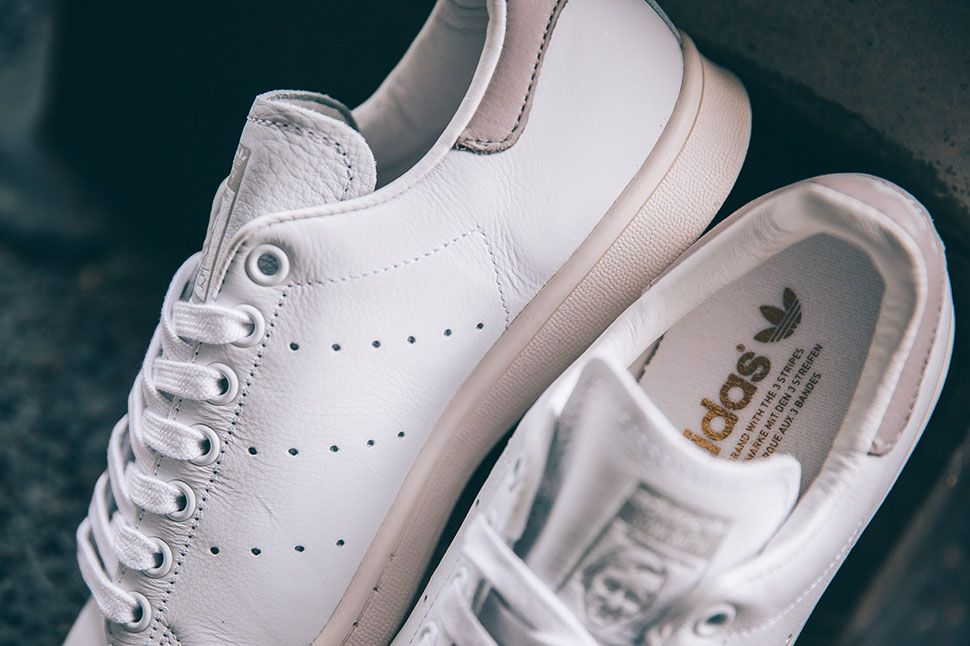 Adidas Stan Smith White And Clear Granite
