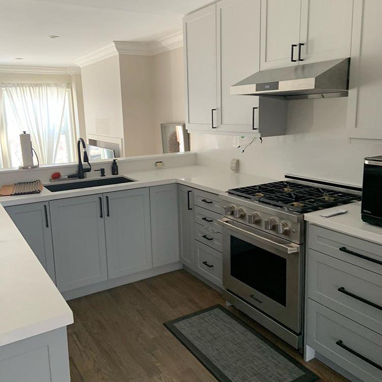19++ Dove grey shaker kitchen type