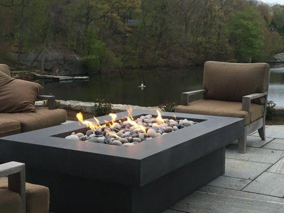 Olson Feuer Tisch Beton Feuerstelle Etsy Feuerstelle Feuerstelle Garten Feuerstellen Tisch