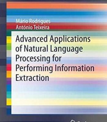 Advanced Applications Of Natural Language Processing For