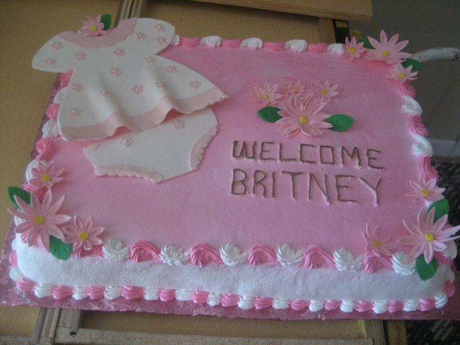 Pastel Para Baby Shower De Nina.