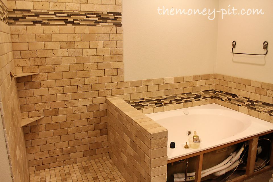 The Kim Six Fix Master Bathroom Week Tile Sealing And Grout - Bathroom tile sealer