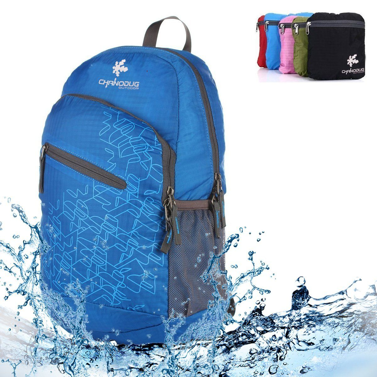84fd45b7443d Lightweight Waterproof Foldable Backpack 20L ^^ Save this wonderfull ...