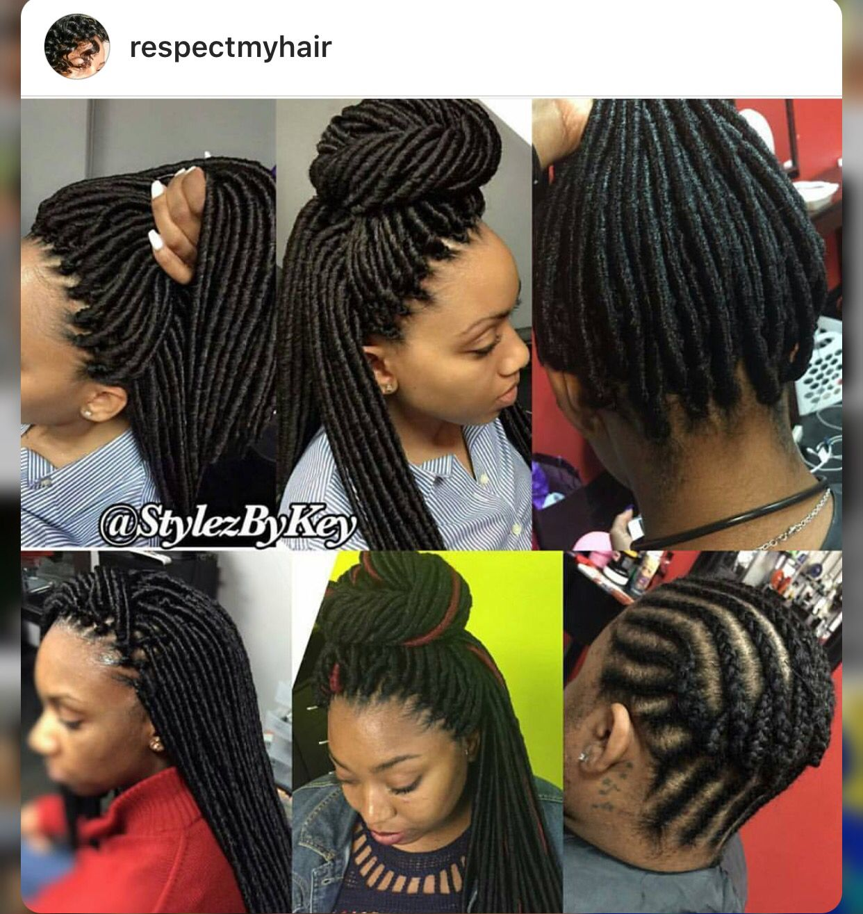 Crochet Dreads Braid Styles In 2019 Braided Hairstyles Crochet