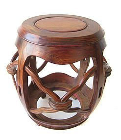 Chinese Huanghuali Wood Drum Stool Art Ideas More Pins Like This At Fosterginger Pinterest Pear Wood Furniture Design Inspiration China Furniture