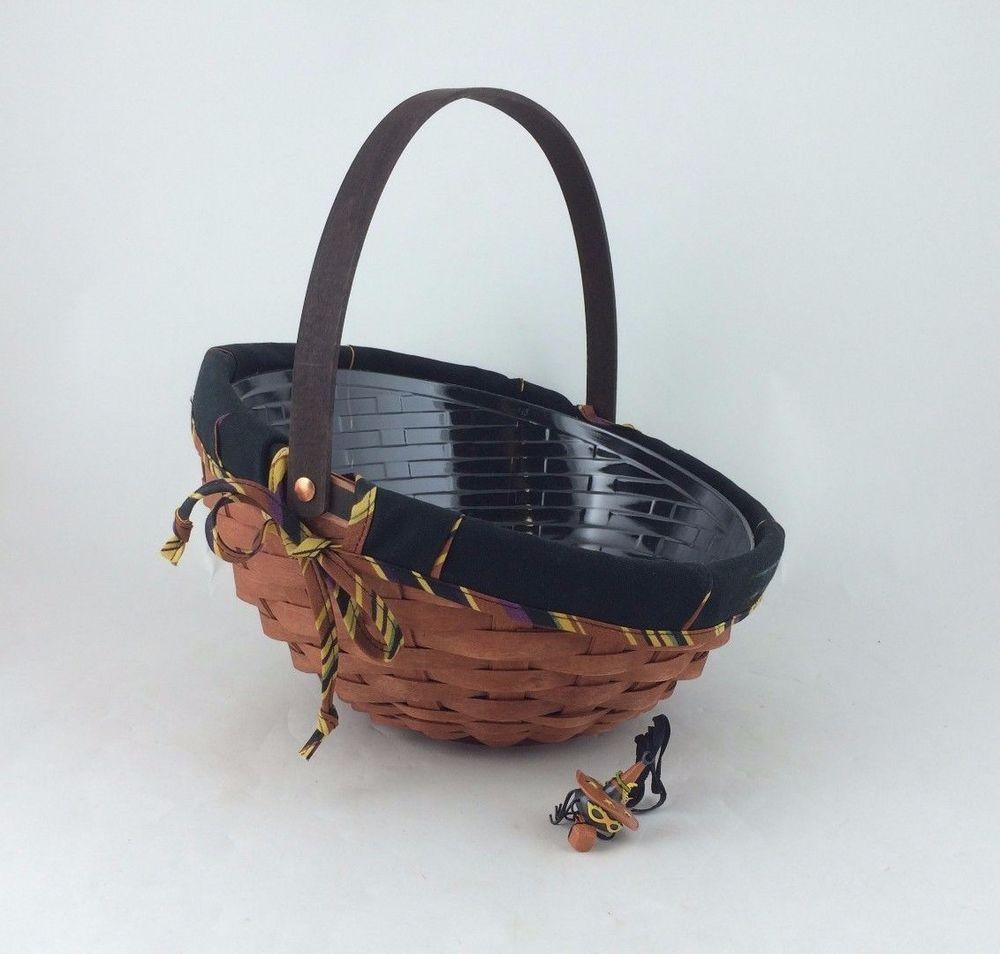 Details about Longaberger 2006 Large Autumn Treats Basket Combo ...