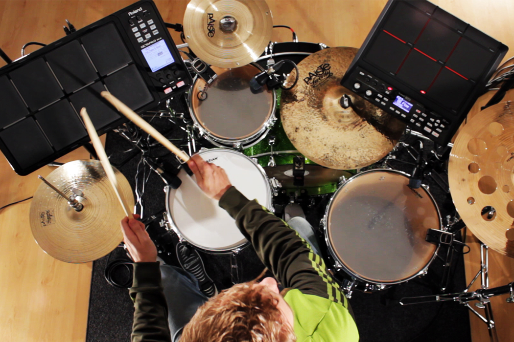 how to set up drum triggers