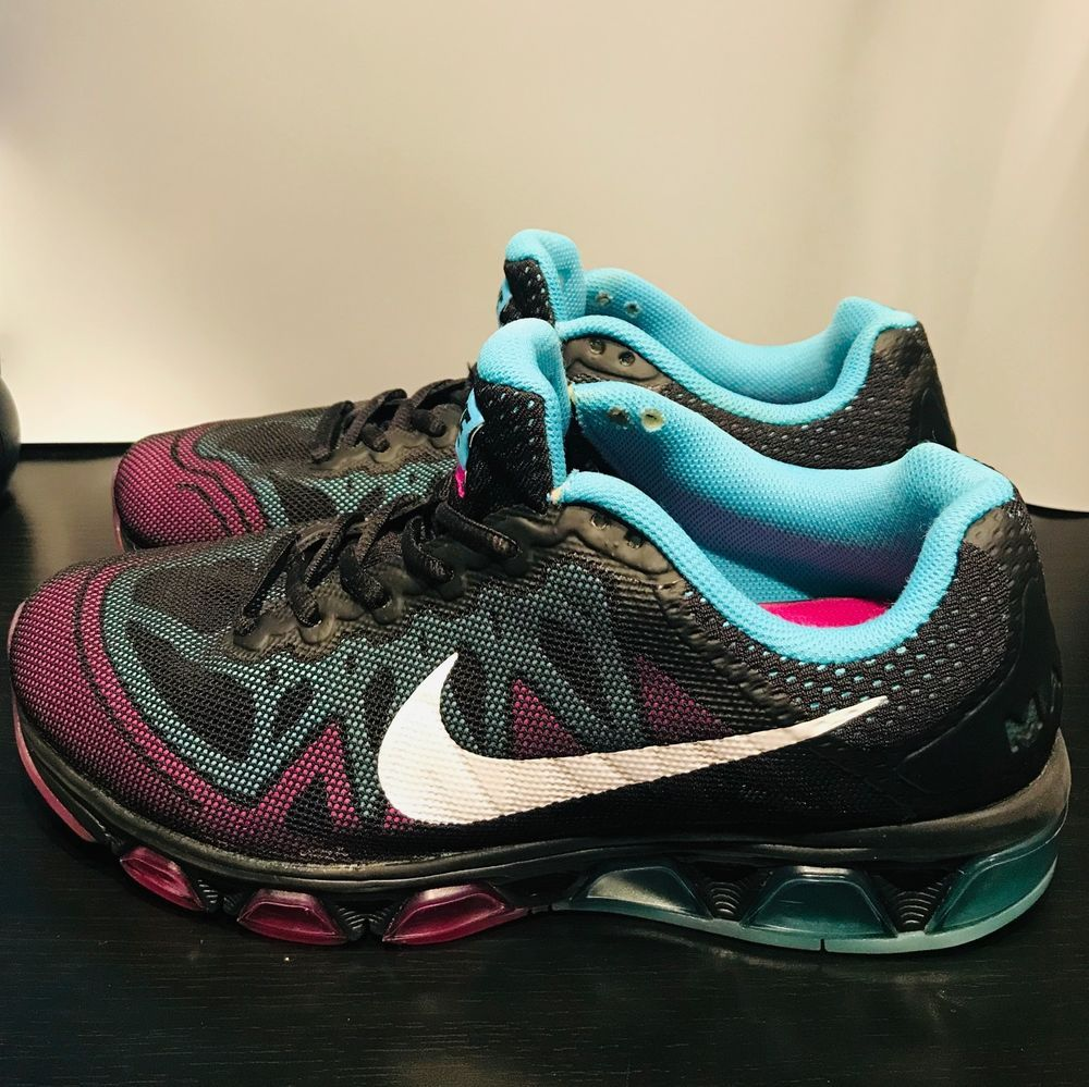 brand new e203a 8d234 Nike Air Max Tailwind 7 Black Clearwater 683635 004 Women Running Shoes US  9