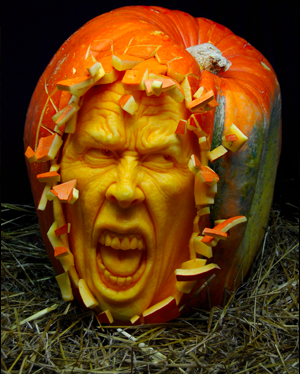 This is the ultimate Pumpkin for Halloween