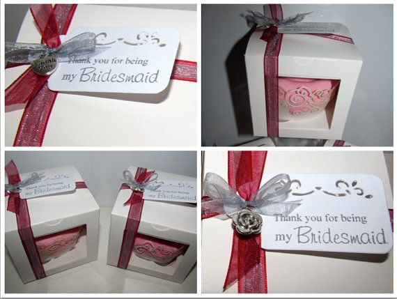 Sock Cupcake Bridesmaid/ Flower Girl Gift  Thank by SockNRollUK, £4.00