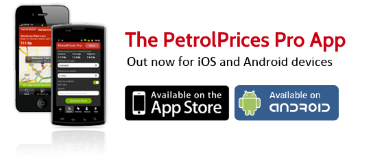 UK Petrol prices. Like Gasbuddy. PetrolPrices Pro App for